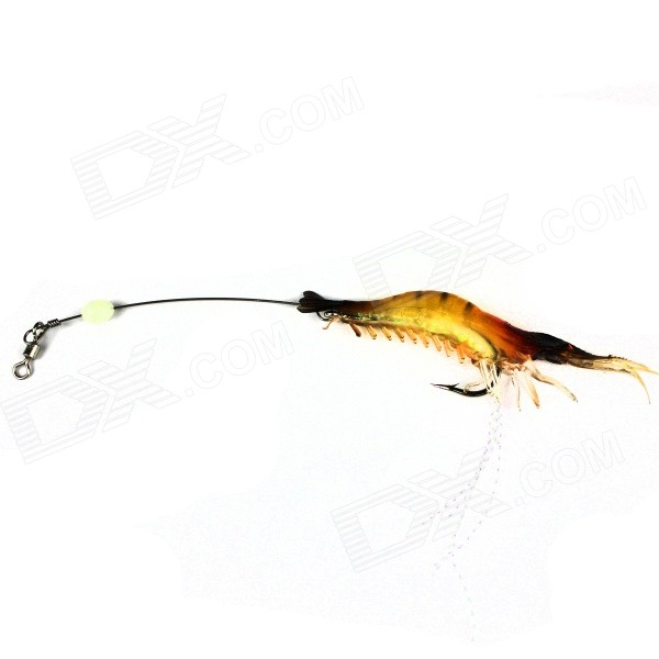 Simulation Shrimp Style Fishing Hook Bait - Silver + Multi-ColorFishing Baits<br>Form  ColorSilver + MulticolorModelN/AQuantity1 DX.PCM.Model.AttributeModel.UnitMaterialSilicone + stainless steelFishing Site River,Pool,Sea,Surf Fishing,Sea Boat Fishing,Rock Fishing,Reservoir,PondPacking List1 x Bait<br>