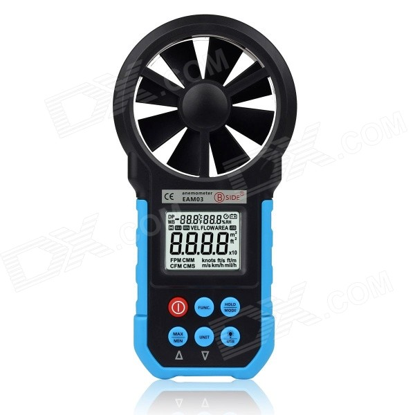 "BSIDE Eam03 1.7"" LCD Professional Digital Wind Speed Anemometer"