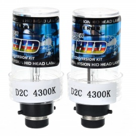 D2C-4300K-Xenon-Super-Vision-HID-Vehicle-Headlamp-(Pair)