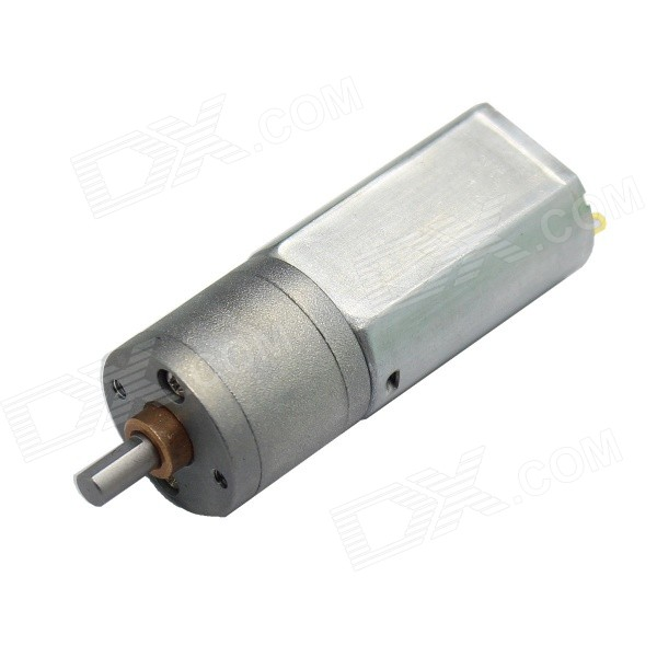 20mm Outer Diameter 180 Type DC6.0V 50RPM Large Torque Motor Reducer - Silver