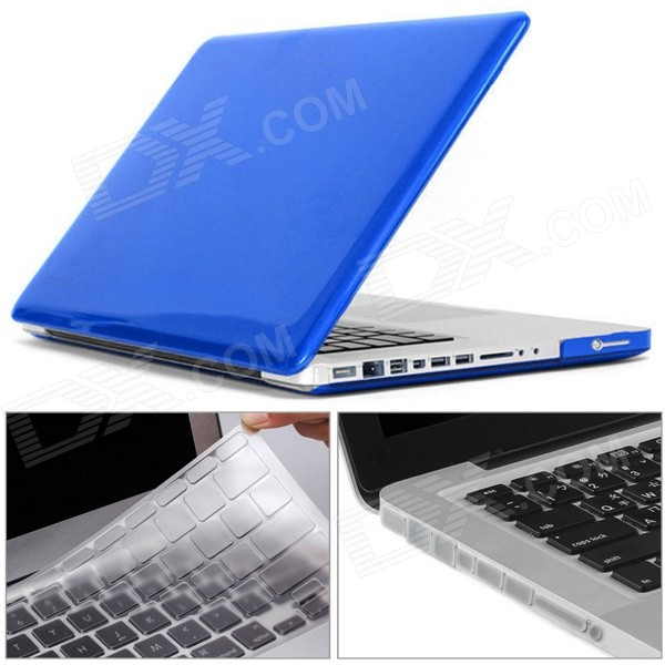 Mr.northjoe 3-in-1 Case Keyboard Plug for MACBOOK PRO 13.3 - Dark BlueNetbook&amp;Laptop Cases<br>Form  ColorTranslucent Dark BlueModelN/AQuantity1 DX.PCM.Model.AttributeModel.UnitShade Of ColorBlueMaterialPolycarbonateCompatible ModelMACBOOK PRO 13.3Compatible BrandAPPLETypeFull Body CasesStyleBusiness,Casual,Fashion,ContemporaryCompatible Size13.3 inchPacking List1 x Hard shell (top + bottom)1 x Keyboard cover (TPU Transparent)9 x Anti-dust silicone plug (Transparent)<br>