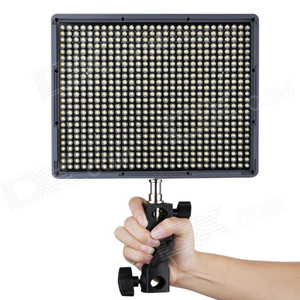 Aputure Amaran HR672S 45W 672-LED Camera Video Light - Grey (US Plugs)