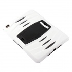 Pcover29 Silicone Full Body Case w/ Stand for IPAD AIR 2 - White