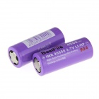 BestFire 3.7V 3500mAh Flat Head 26650 Rechargeable Battery - Purple (2 PCS)