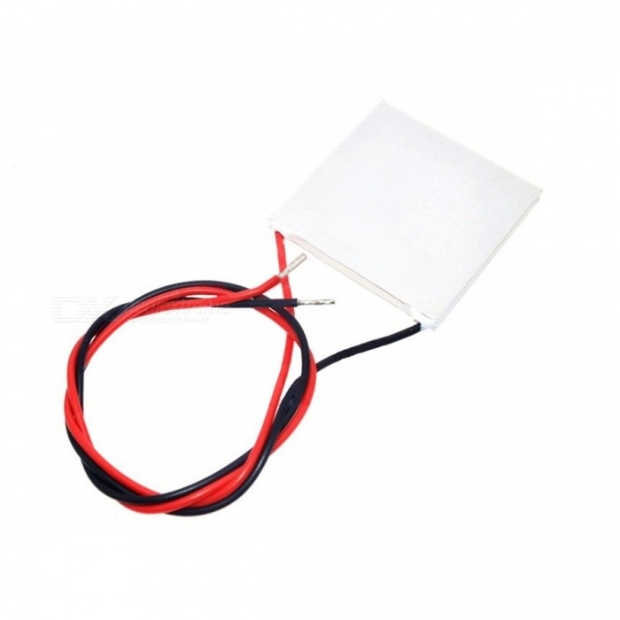 YB3981 DIY 150'C Thermoelectric Power Generator Peltier Module - White +  Silver