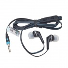 JTX JTX-A10 Stylish In-Ear Earphones w/ Mic / 3.5mm for Phone - Black
