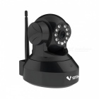 VSTARCAM C7837WIP 1/4″ CMOS 1.0MP 720P IP Camera w/ 10-IR-LED / Wi-Fi / TF  – Black (EU Plug)