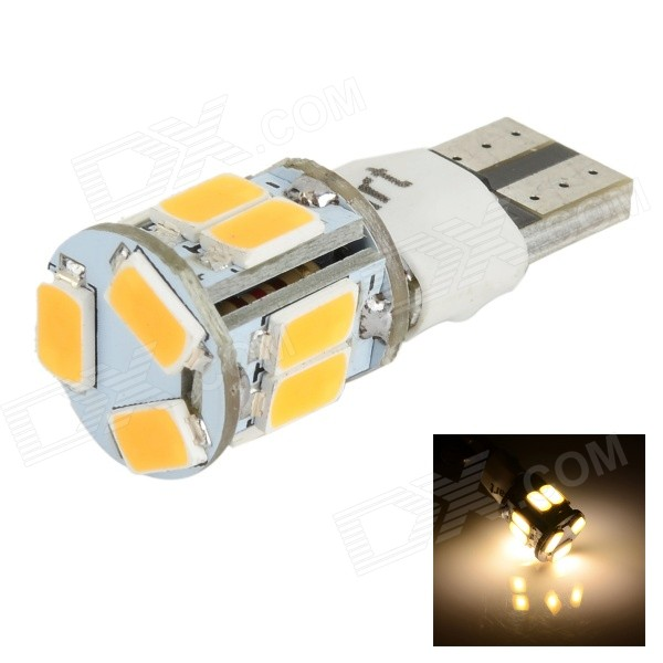 SENCART T10/149/168 / W5W 3W Car Light Warm White 80lm 2-Mode SMD 5630 for sale for the best price on Gipsybee.com.