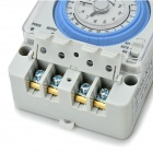 TB35-N ABS 12H Time Set Switch - Gris + Bleu (AC 100 ~ 240V)