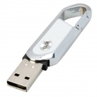 Blade Cutter Style USB 2.0 Flash Drive - White + Silver (16GB)