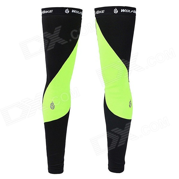 WOLFBIKE BC320-G Cycling Leg Warmer Sleeves