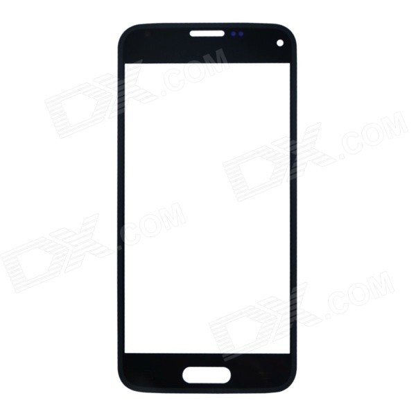 Waterproof Electroplating Screen Cover for Samsung S5 & More - Black
