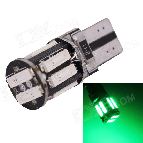 MZ T10 5W 577nm 400lm SMD 7020 Green Car Clearance Lamp (12V)