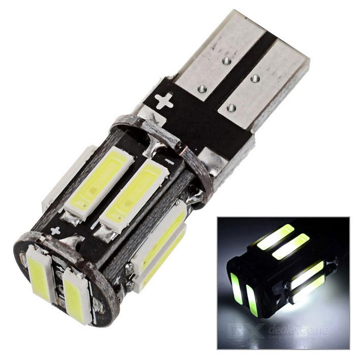 Buy MZ T10 5W White LED Decoding CANBUS Error-Free Car Clearance Lamp with Litecoins with Free Shipping on Gipsybee.com