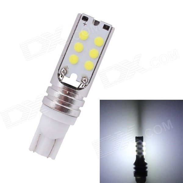 MZ T10 6W 6000K 500lm COB White Car Lamp (12~24V)