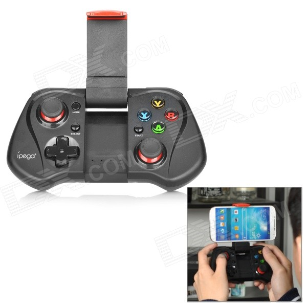 Buy IPEGA PG-9033 Bluetooth Wireless Controller for Phone - Black + Red with Litecoins with Free Shipping on Gipsybee.com