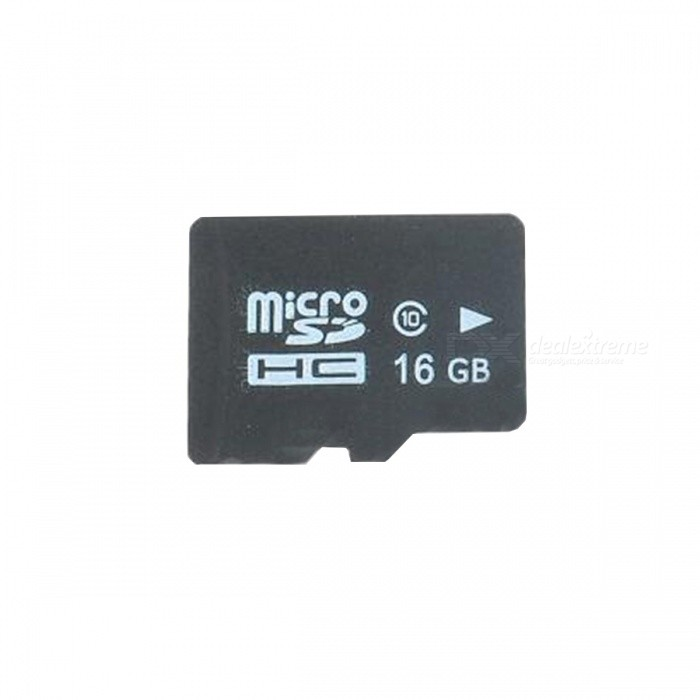 Buy Micro SD TF Memory Card - Black (16GB / Class 4) with Litecoins with Free Shipping on Gipsybee.com