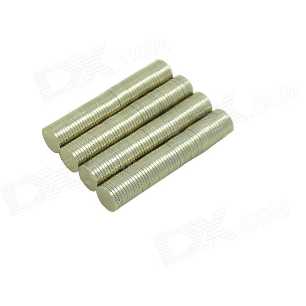 8*1mm Cylindrical NdFeB Magnet - Silver (200PCS)