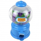 Manual Rotation Torsion Candy Machine Piggy Bank - Blue (350ml)