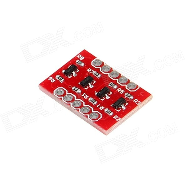 Geeetech Logic Level Converter para I2C, SPI, Serie Normal - Rojo