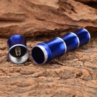 Bamboo Joint Style 30lm Neutral White LED Flashlight - Blue (1*AA)