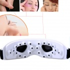 RMK-018B Electric Eye Massager Massage Instrument - Black + White