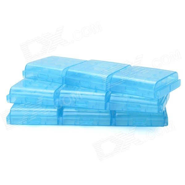 Buy PP Storage Organizer Battery Cases for AA / 14500 / AAA / 10440 (9PCS) with Litecoins with Free Shipping on Gipsybee.com