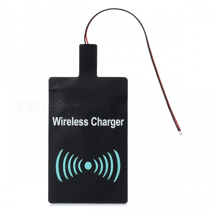 DIY Universal DC 5V Qi Wireless Charging Receiver Module - Black