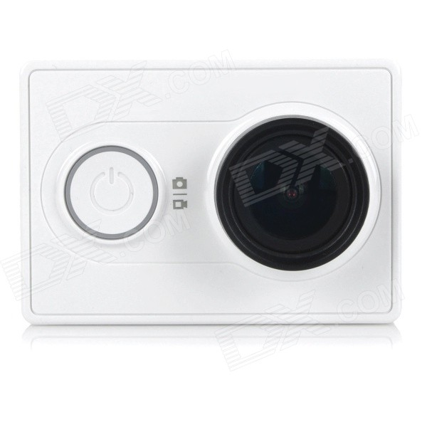 Buy Xiaomi Xiaoyi 1080P 16MP Sports Camera Camcorder w/ Wi-Fi, BT - White with Litecoins with Free Shipping on Gipsybee.com