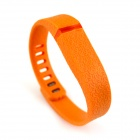 Small Size Wristband for Fitbit Flex - Deep Pink + Orange (2 PCS)