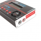 "C610 120W 2.6"" LCD PRO RC Li-po / LiFe Battery Charger - Black + Red"