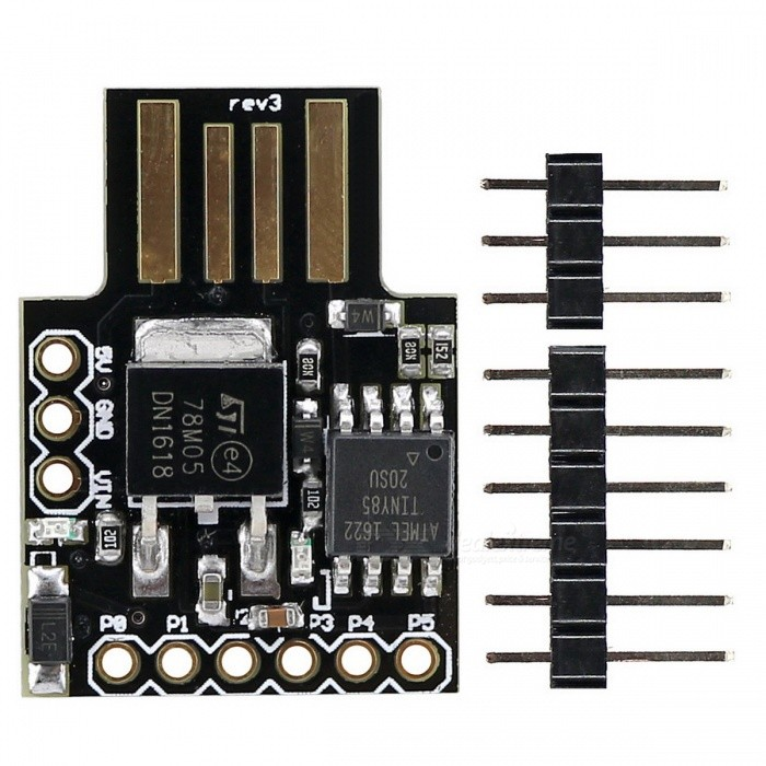 USB Interface Digispark Kickstarter ATTINY85 Development Board