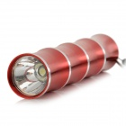 Outdoor 30lm 1-LED 1-Mode White Light Torch Flashlight w/ Strap (1*AA)