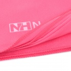 NatureHike Outdoor Quick Drying Towel w/ Pouch - Deep Pink