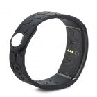F1 Smart Bluetooth Watch Bracelet w/ Sleep Monitor, Reminder - Black