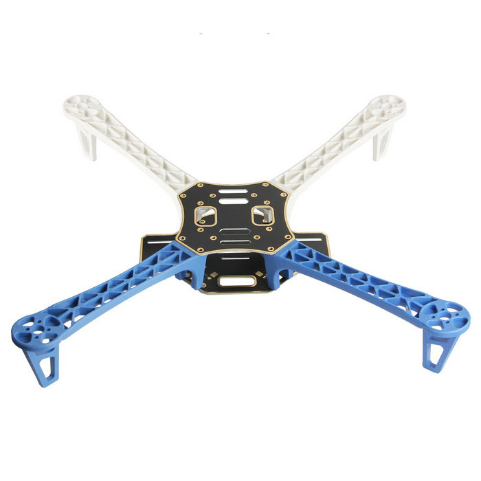 Geeetech FE500 Quadcopter Frame kit - Blue + White - Free Shipping ...