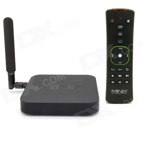 MINIX NEO X8-H Android Google TV Player w/ MINIX NEO A2 Lite Air Mouse