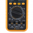 "LIHUADA LHD-9305A 3"" LCD Digital Multimeter - Yellow"