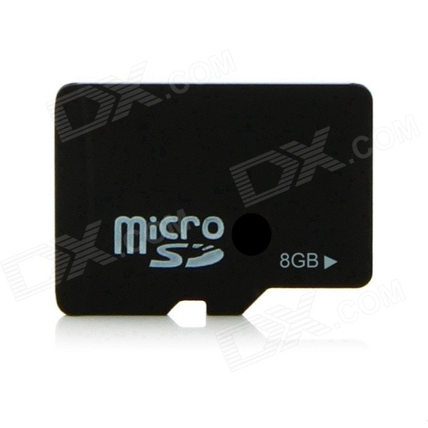 Buy 8GB Class 4 SD Memory Card - Black with Litecoins with Free Shipping on Gipsybee.com