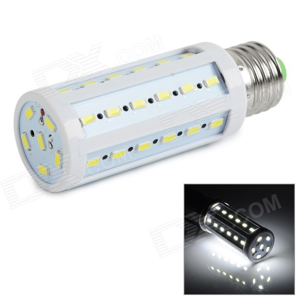 Buy E27 9W LED Corn Lamp Bulb Cold White 810lm 42-SMD 5730 (AC 220~240V) with Litecoins with Free Shipping on Gipsybee.com