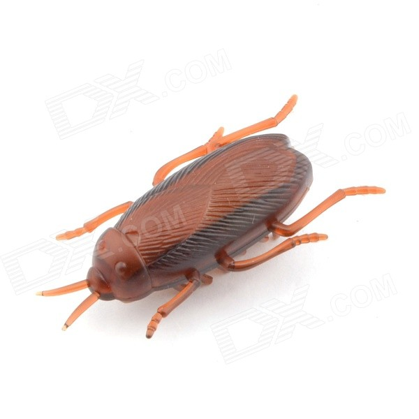 Buy Creative Shaky Cockroach Toy for Kids / Children - Coffee (1*LR44) with Litecoins with Free Shipping on Gipsybee.com
