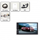 "Joyous J-2818W 7"" Android 4.4.4 Car DVD GPS DVR OBD SWC WiFi - Black"