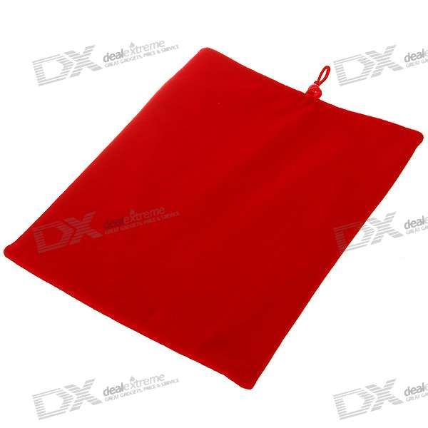 Protective Soft Cloth Case for   Ipad (Red)