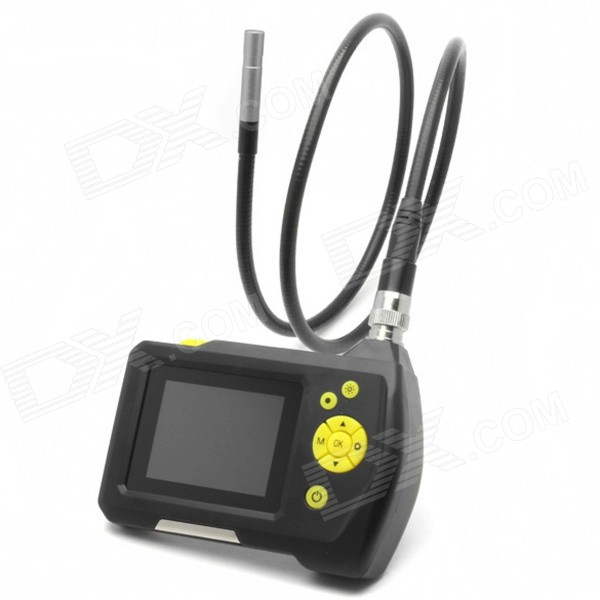 "Portable 2.7"" LCD Inspection Camera 8.2 mm Digital Borescope"