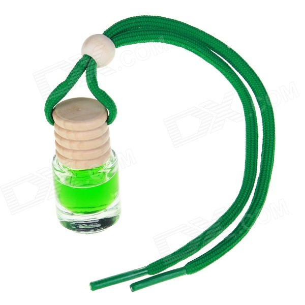 Buy Bottle Type Fashion Perfume Car Ornaments - Green (Jasmine Flavor) with Litecoins with Free Shipping on Gipsybee.com