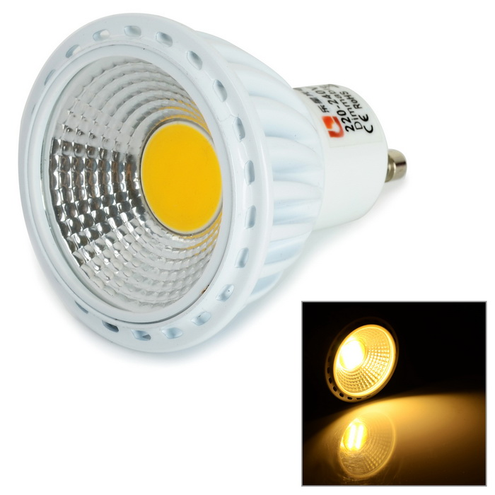Lexing GU 10 6W COB LED Dimmable Spotlight Warm White 400lm 3500K