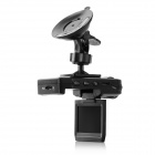 "2.0"" 1080p 140' Wide-Angle Night Vision Car DVR Camcorder - Black"
