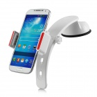 360 Degree Rotary Suction Cup Car Holder Mount - White + Red