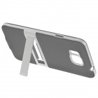 ENKAY TPU Case w/ Stand for Samsung Galaxy Alpha G850 - Grey