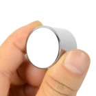 NdFeB Round Shaped Magnet - Silver